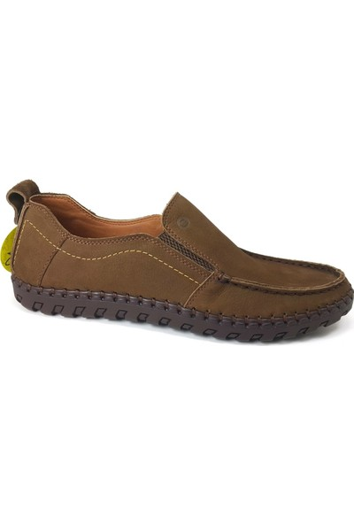 Mammamia 7100 Günlük Erkek Ayakkabı Kakao Nubuk