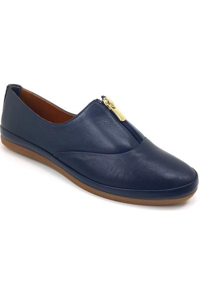 Estile 49 Günlük Kadın Ayakkabı Lacivert