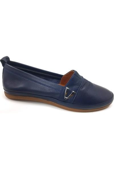 Estile 61 Günlük Kadın Ayakkabı Lacivert