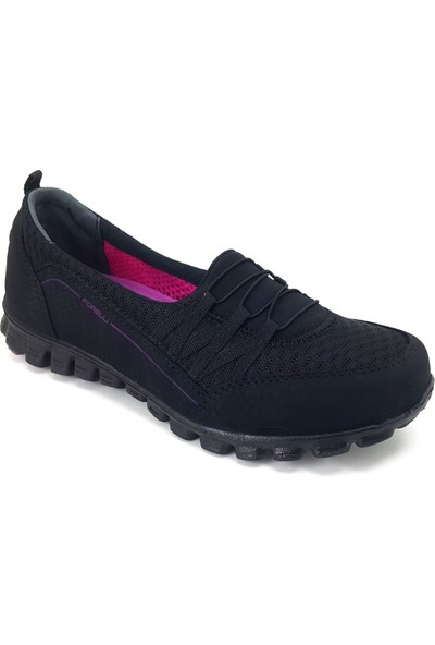 Forelli 61014 Günlük Kadın Ayakkabı Siyah