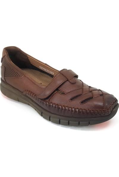 Forelli 29429 Ortopedik Günlük Kadın Ayakkabı Taba