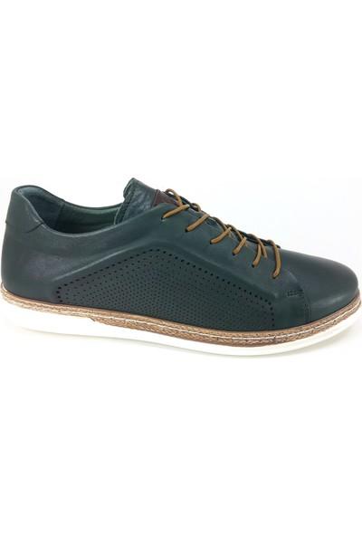 Libero 676 Günlük Erkek Ayakkabı Yeşil