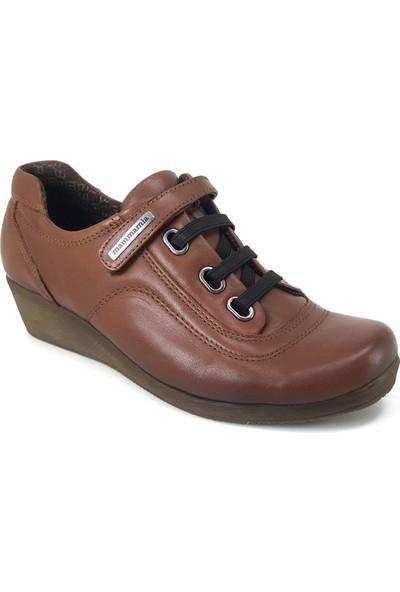 Mammamia 280 Günlük Kadın Ayakkabı Taba