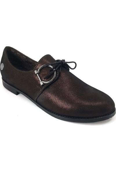 Mammamia 750 Günlük Kadın Ayakkabı Bakır