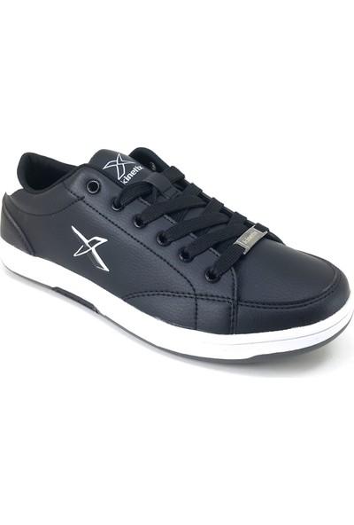 Kinetix Herbert Günlük Kadın Spor Ayakkabı Siyah - Beyaz