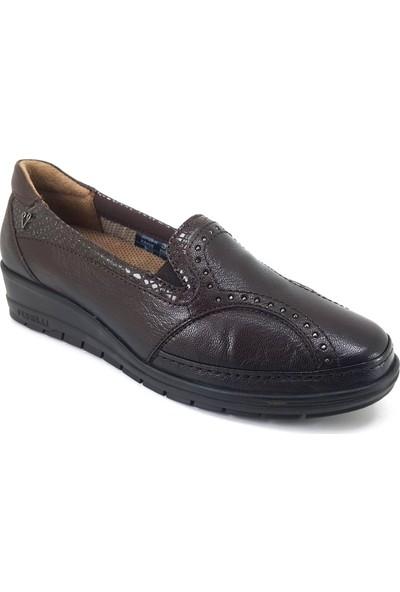 Forelli 25109 Günlük Kadın Ayakkabı Kahverengi