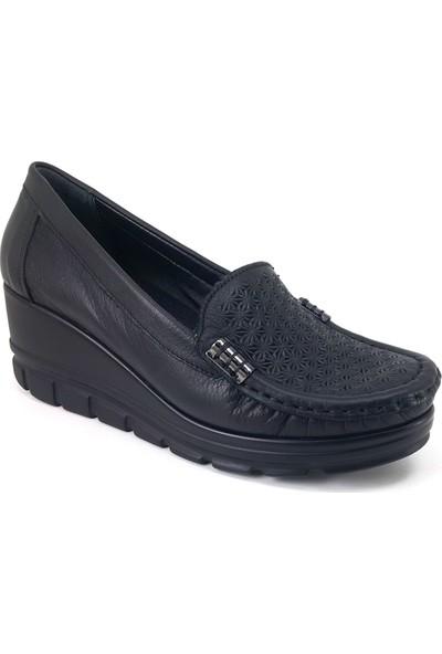 Mammamia 3655 Günlük Kadın Ayakkabı Siyah