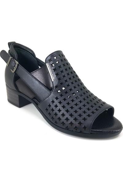 Mammamia 985 Günlük Kadın Ayakkabı Siyah