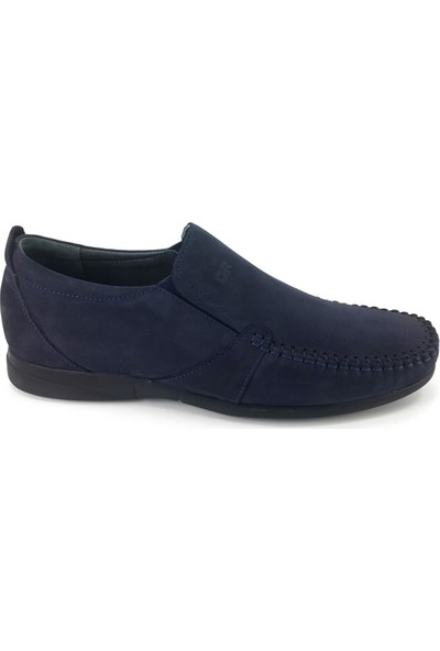 Greyder 65986 Günlük Erkek Ayakkabı Lacivert Nubuk