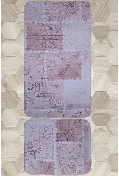 Maco Nida 2'Li Krem Banyo Paspası