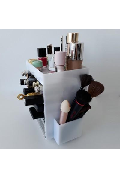 Makyaj Organizer Jeanne Çekmeceli Akrilik Kozmetik Organizer Düzenleyici