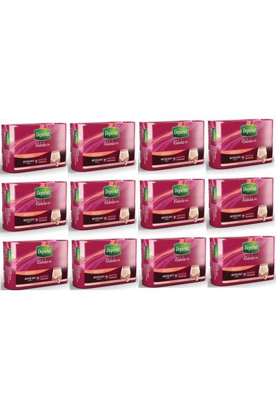 Depend Emici Külot Eko Paket Büyük Kadın 12'li Set 16 Adet x 12 Paket (192 Adet)