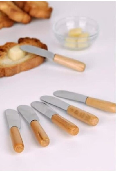 Shaddy Goods Reçel Bal Tereyağı Bıçağı 6 Adet