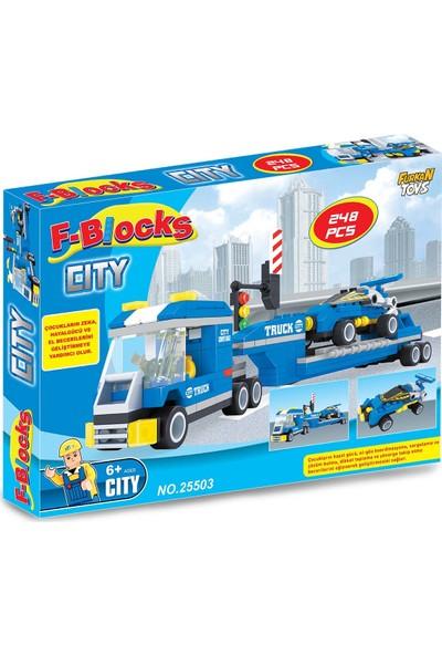 Furkan Toys F-Blocks City Seri 248 Pcs