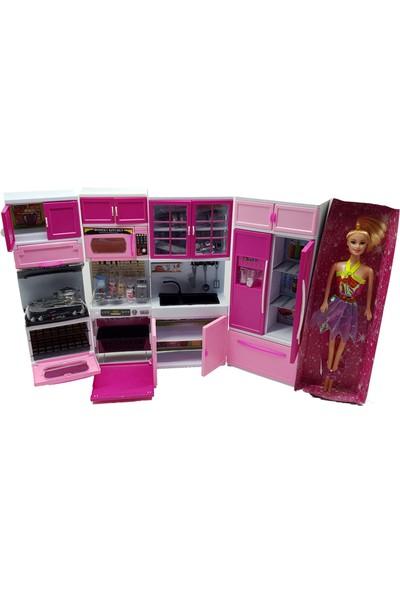 Can Oyuncak Prenses Mutfak Seti Barbie Bebek Hediyeli