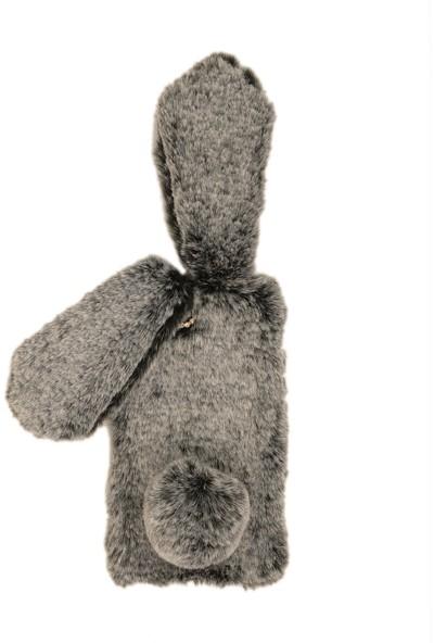 Newcase Apple iPhone 8 Plus Peluş Tavşanlı Kılıf