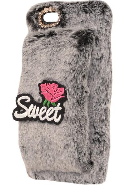 Newcase Apple iPhone 6 Plus Sweet Rose Ele Takılan Kılıf