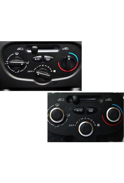 Next Oto Peugeot 207 Klima-Kalorifer Düğmesi