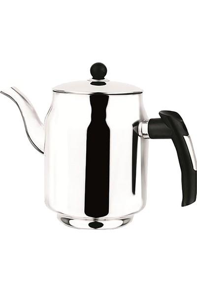 Çelik Kahveci Demliği 3 Numara Çay Kazanı Demliği