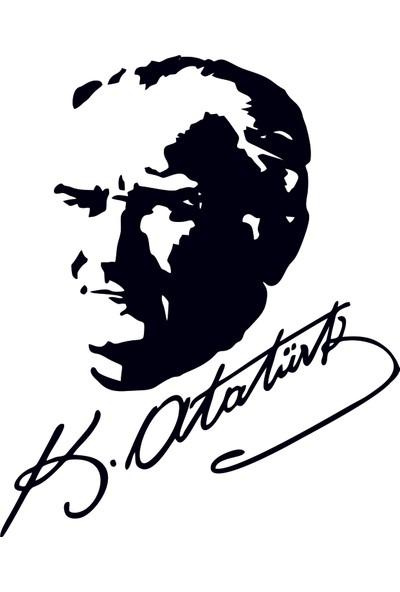 Bugico Design'dan Mustafa Kemal Atatürk Duvar Sticker