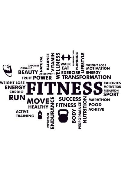 Bugico Design'dan Spor/Gym/Fitness Center Duvar Sticker