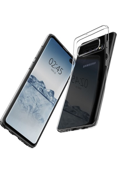 Spigen Samsung Galaxy S10 Plus Kılıf Crystal Flex Crystal Clear - 606CS25654