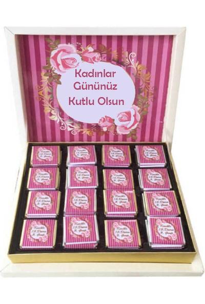 Gondol Çikolata Kadınlar Günü Hediyelik Çikolata 32'li