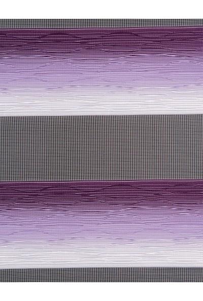 Güneş Perde Brillant Dijital Kelebek Baskılı Etek Dilimli Zebra 160X200