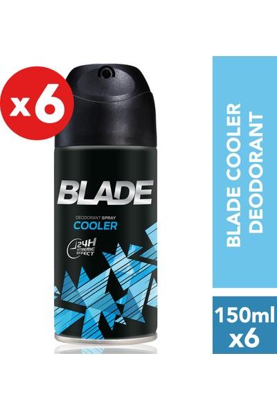 Blade Cooler Erkek Deodorant 6'lı 150 ml
