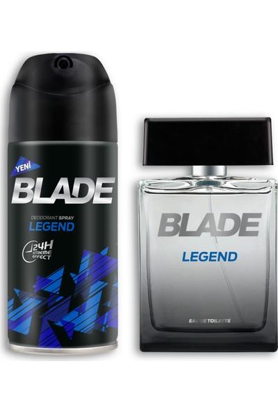 Blade Legend EDT Erkek Parfüm 100 ml & Deodorant 150 ml