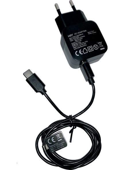 Key 2.4 Amp Type-C Hızlı Şarj Cihazı