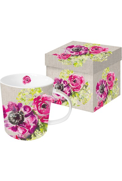 PaperProducts Design GMBH Pink Blassoms Porselen Kupa