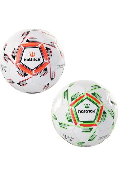 Hattrick Talento Dikişli Futbol Topu 2B Yeşil