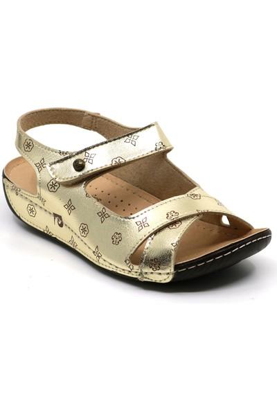 Pierre Cardin 1362 Cırtlı Yumuşak Hafif Kadın Sandalet