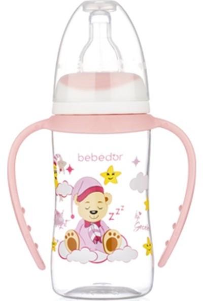 Bebedor B-76302 Desenli Ergonomik Kulplu Biberon 125 ml