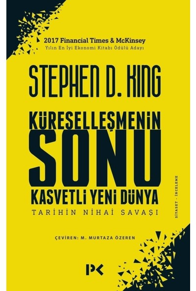 Küreselleşmenin Sonu - Stephen D. King