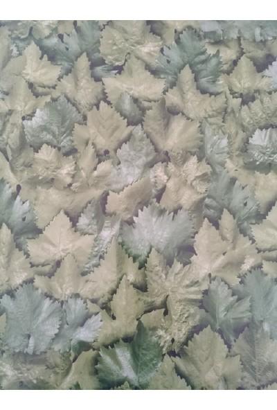 Venilia Yeşil Yapraklar Desenli Dekoratif Yapışkanlı Folyo
