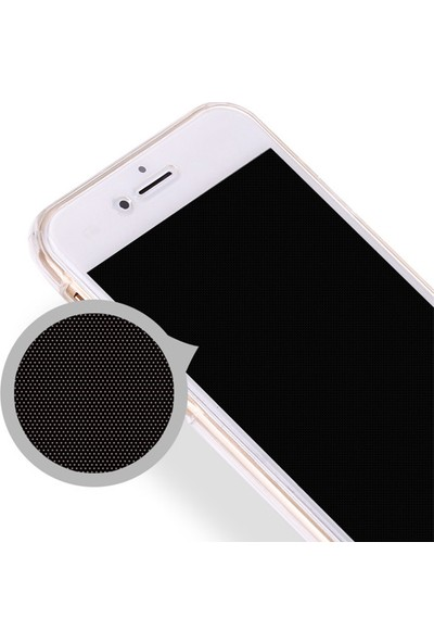 Caseup Apple iPhone 7 Kılıf 360 Çift Taraflı Silikon Şeffaf + Nano Cam