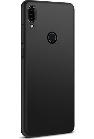 Caseup Asus Zenfone Max Pro M1 (5.9'') ZB601KL Kılıf Rubber Siyah + Nano Cam