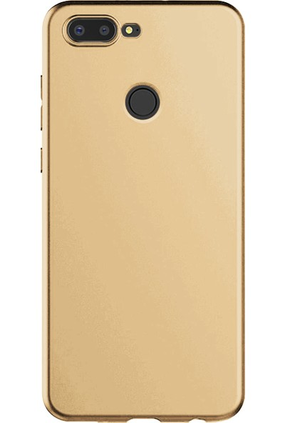 Caseup General Mobile Gm9 Pro Kılıf Matte Surface Gold + Nano Cam