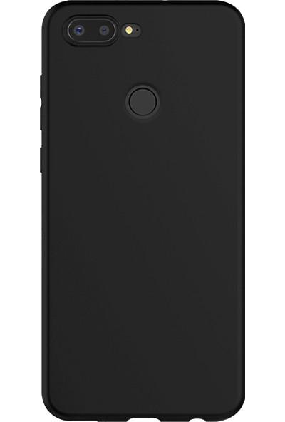 Caseup General Mobile Gm9 Pro Kılıf Matte Surface Siyah + Nano Cam