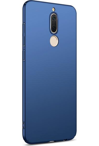 Caseup Huawei Mate 10 Lite Kılıf Rubber Lacivert + Nano Cam