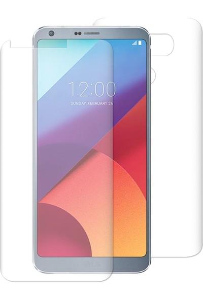 Caseup LG G6 Kavisli Şeffaf Ekran Koruma Seti - Ön Ve Arka
