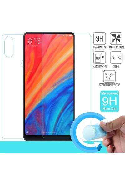 Microsonic Xiaomi Mi Mix 2S Ön + Arka Nano Cam Ekran Koruyucu