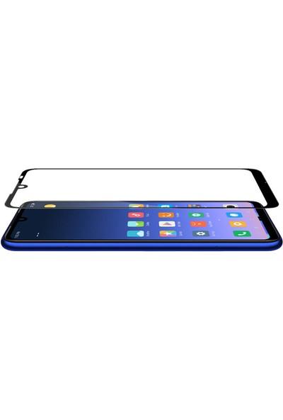 Microsonic Xiaomi Redmi Note 7 Pro Tam Kaplayan Temperli Cam Ekran Koruyucu Siyah