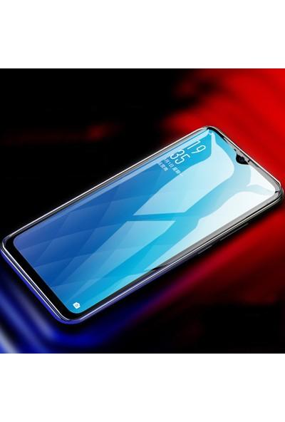 Caseup Oppo F9 / F9 Pro Ekranı Tam Kapatan Ekran Koruyucu Siyah
