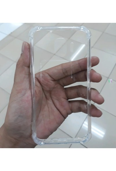 Caseup Samsung Galaxy Grand Prime Pro Kılıf Titan Crystal Şeffaf + Nano Cam