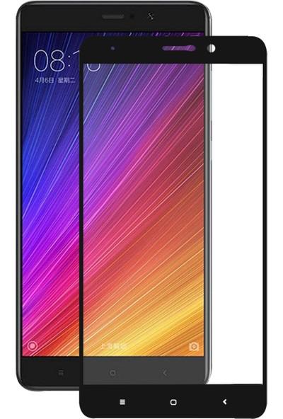 Caseup Xiaomi Mi 5S Plus Kavisli Ekran Koruyucu Siyah