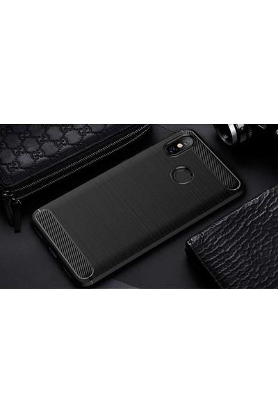 Caseup Xiaomi Mi A2 (Redmi 6 Pro) Kılıf Room Silikon Siyah + Nano Cam