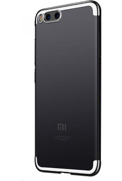 Caseup Xiaomi Mi6 Kılıf Laser Glow Gümüş + Nano Cam